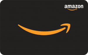 amazon gift card image black/blank