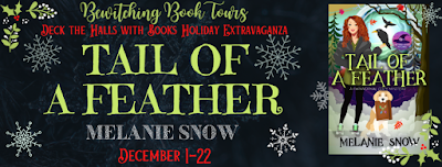 Deck the Halls with Books tails of a feather melanie snow