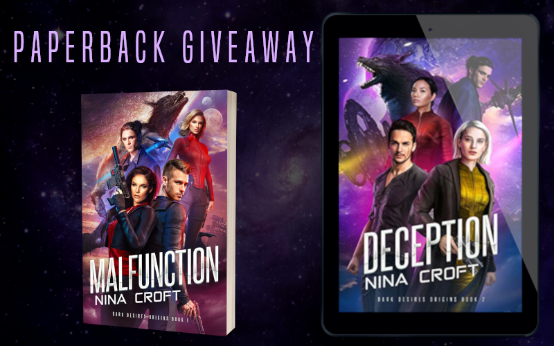 Giveaway Graphic - Deception by Nina Croft - 1