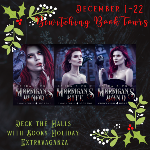 deck the halls with books laura bickle graphic