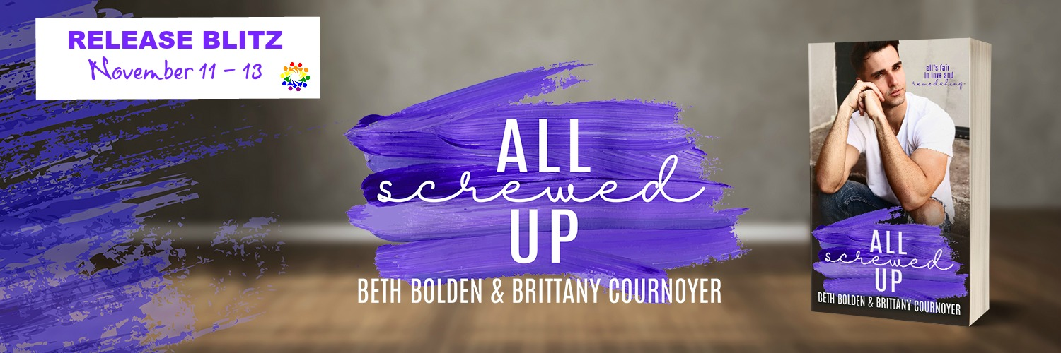 ALL SCREWED UP bolden & Cournoyer banner