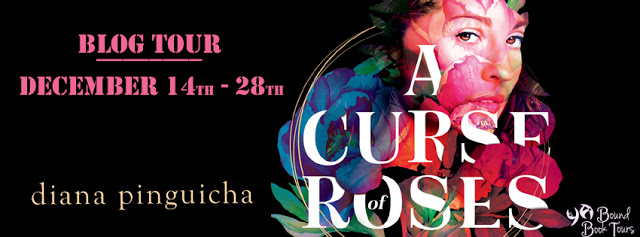 A Curse of Roses tour banner