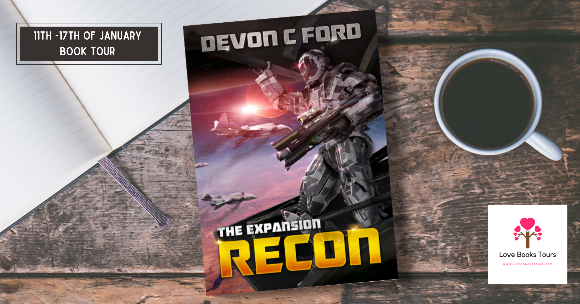 Recon (The Expansion Book 1) - Tour Poster