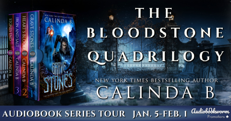 The Bloodstone Quadrilogy Banner