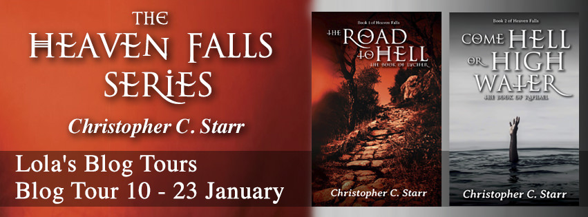 The Heaven Falls series banner