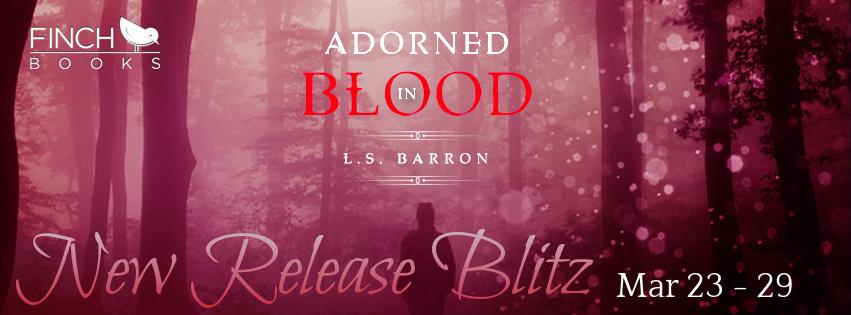 Adorned in Blood Banner