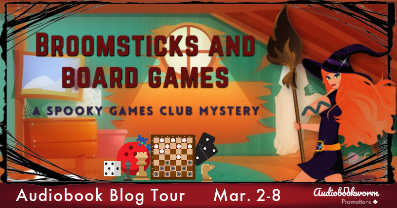 Broomsticks and Board Games Banner