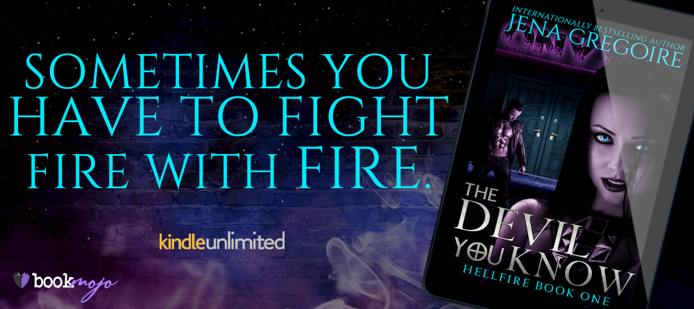 Banner - Hellfire 1.0 - The Devil You KNow by Jena Gregoire