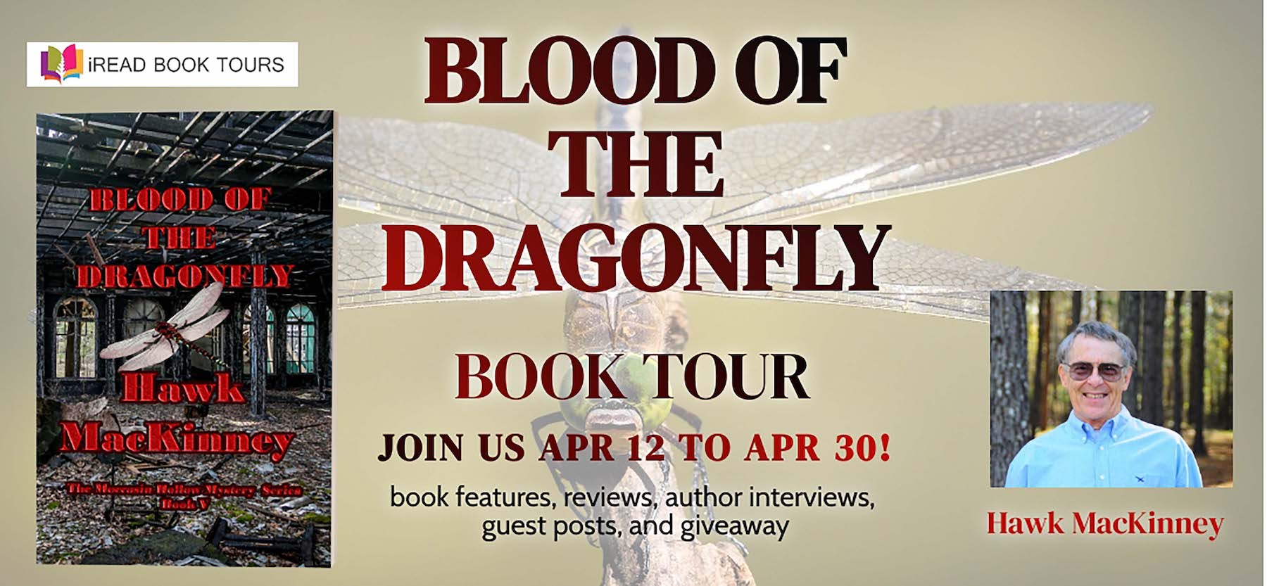 Blood of the Dragonfly Tour Banner
