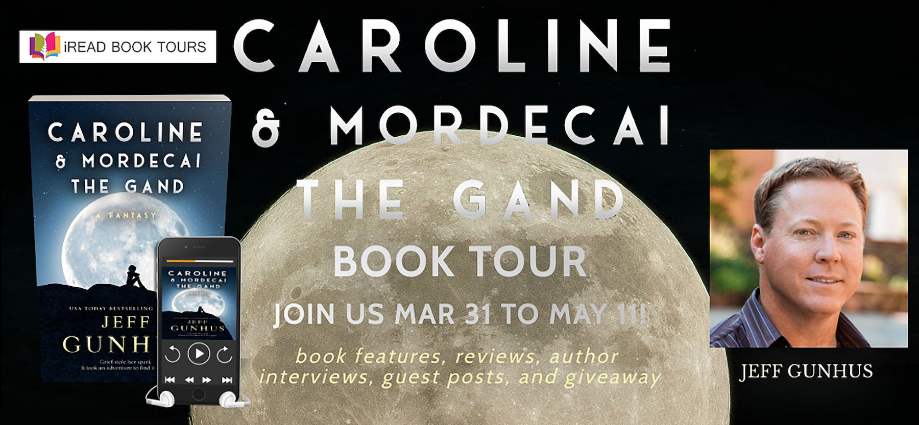 Caroline and Mordecai the Gand tour banner