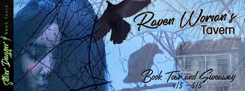 raven woman's tavern banner