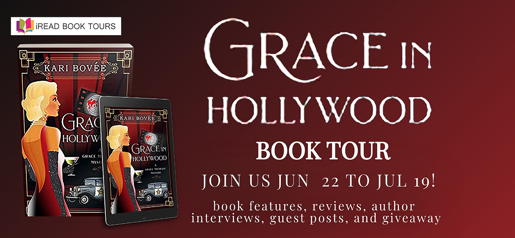 Grace in Hollywood Tour Banners
