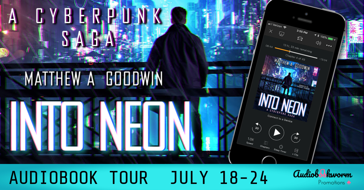 Into Neon Banner