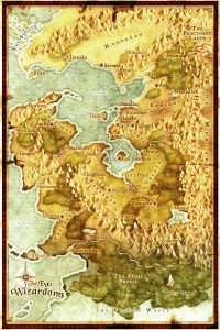 Map of The Eight Wizardoms Color