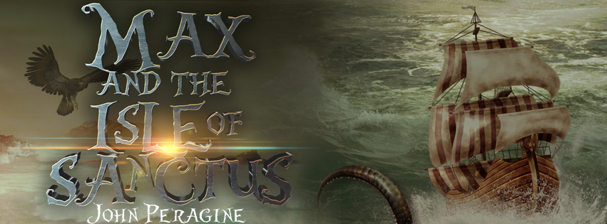 Max And the Isle Of Sanctus Reveal Banner