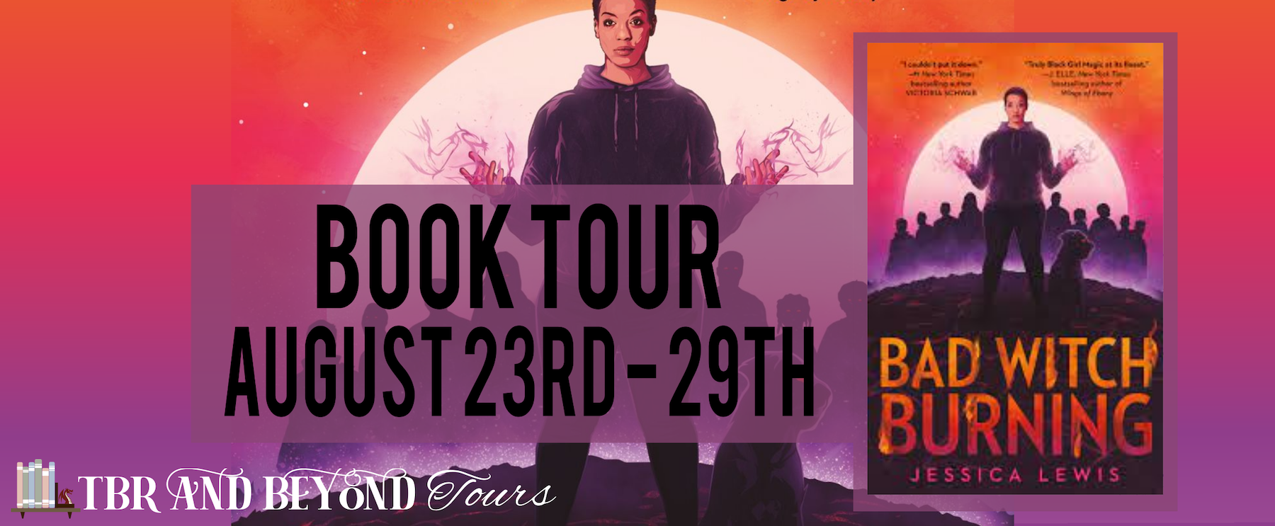 Bad Witch Burning tour banner