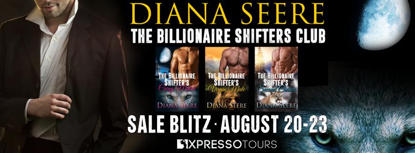 The Billionaire Shifters Club Blitz Banner
