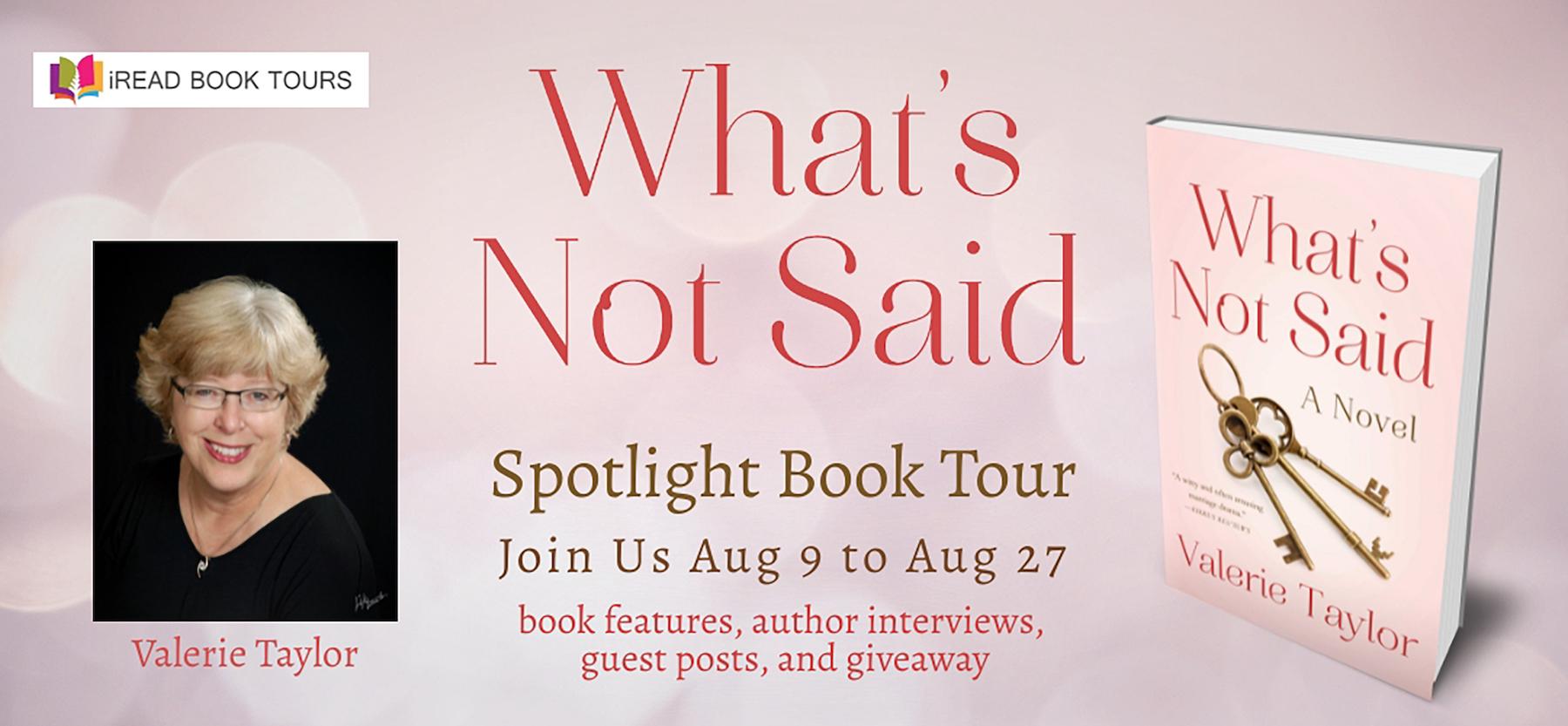 What Not Said Spotlight Tour Banner