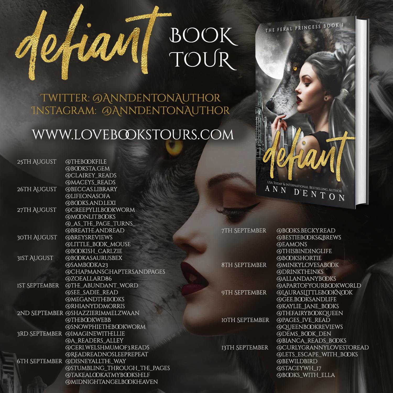 defiant tour dates