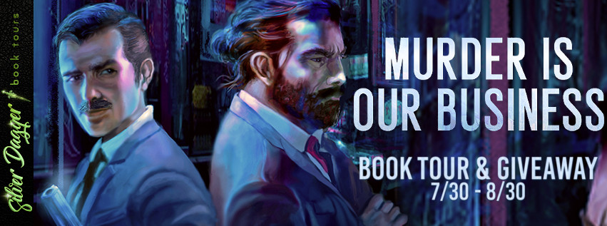 murder is our business banner