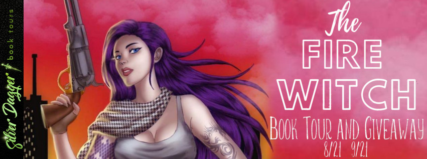 the fire witch banner