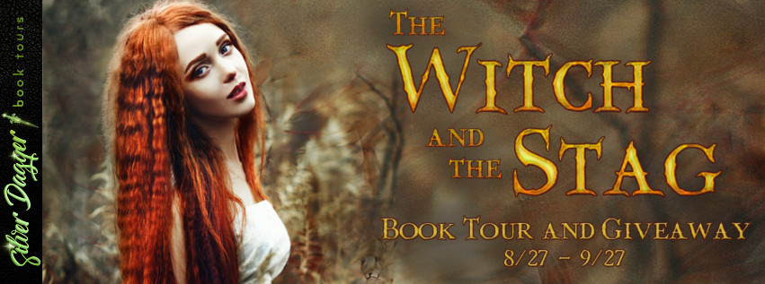 the witch and the stag banner