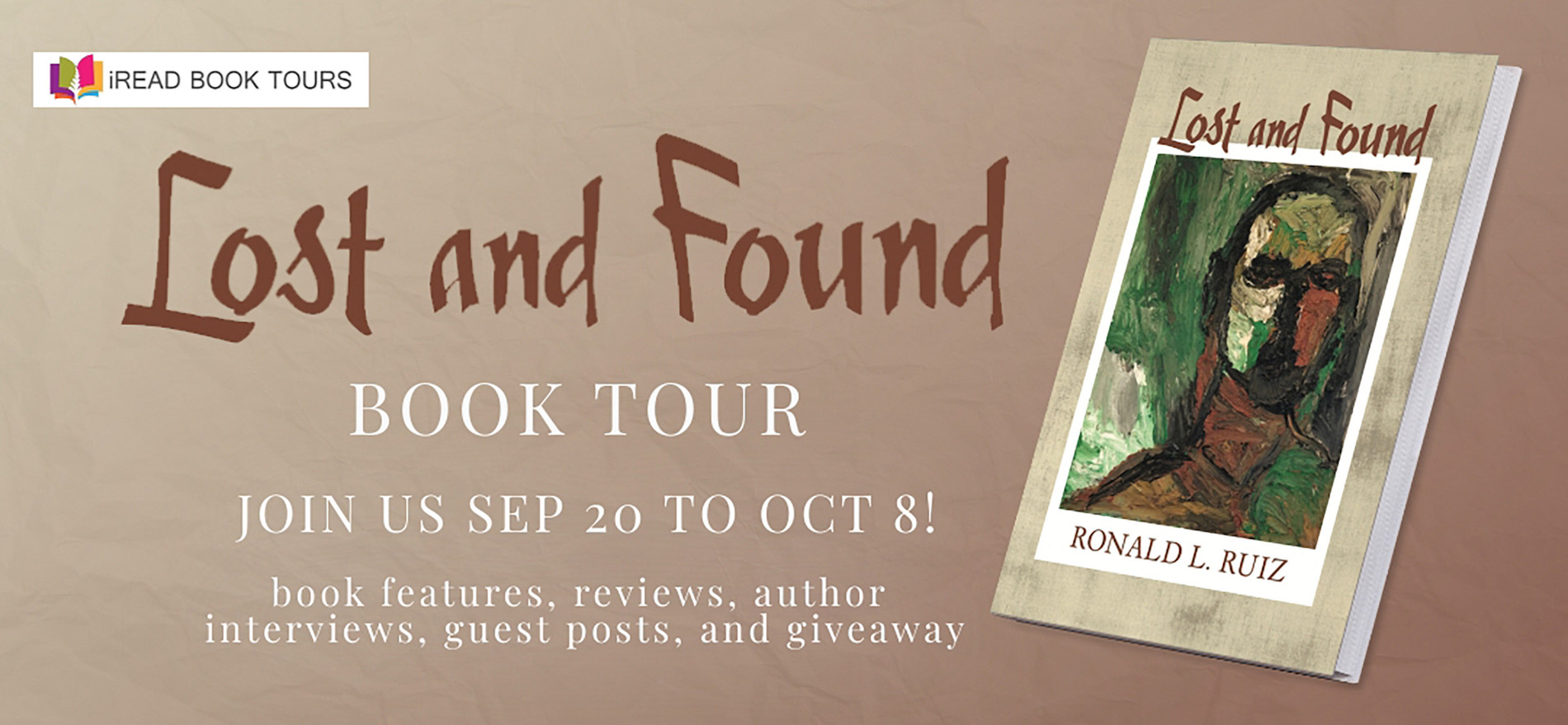 Lost and Found Tour Banner