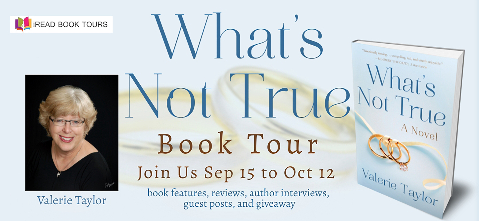 What's Not True Review Tour Banner