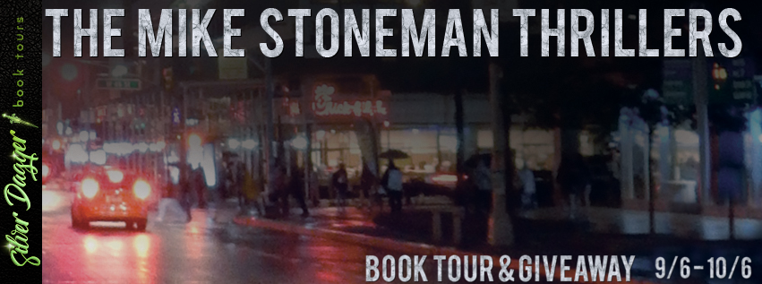 the mike stoneman thrillers tour banner