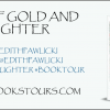 vows of laughter and gold banner