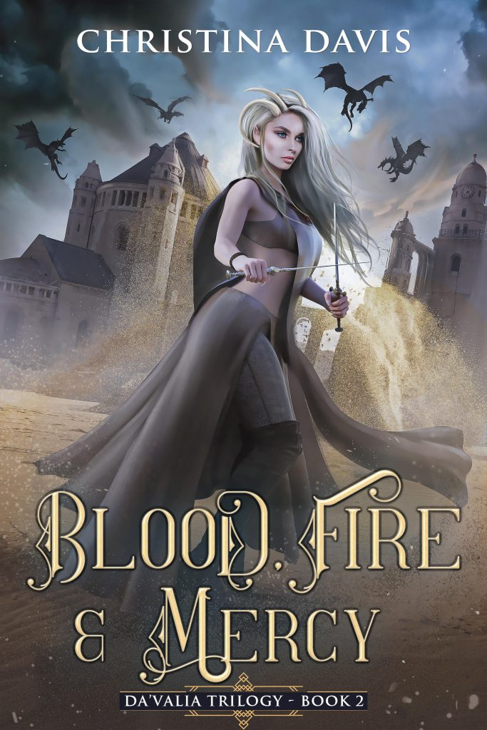 Blood Fire Mercy Cover